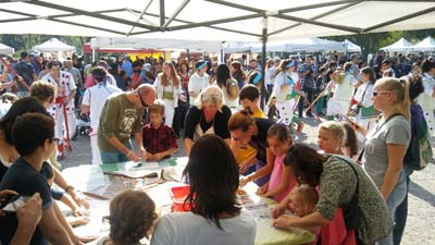 Children's workshops at fairs