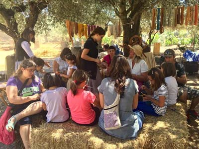 Children's workshops in fairs